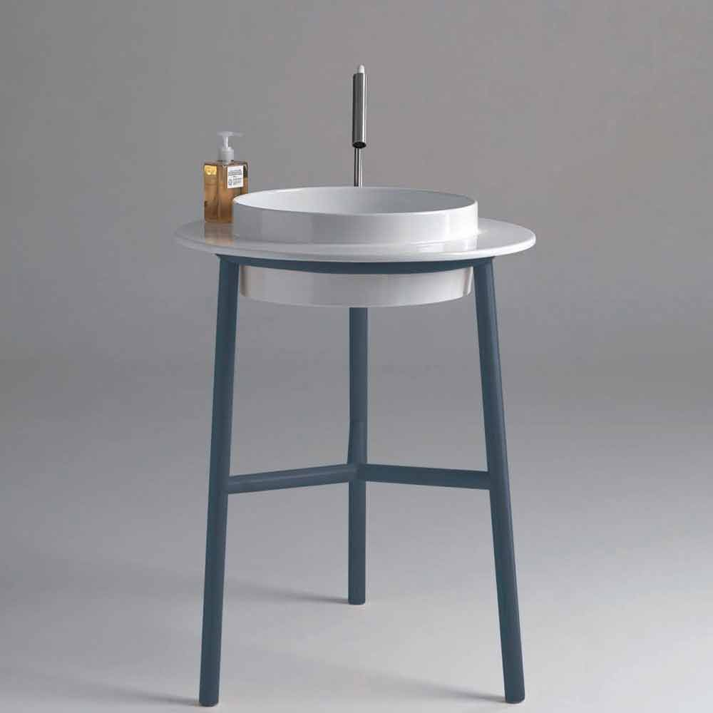Lavabo con mobile for Lavandini sospesi
