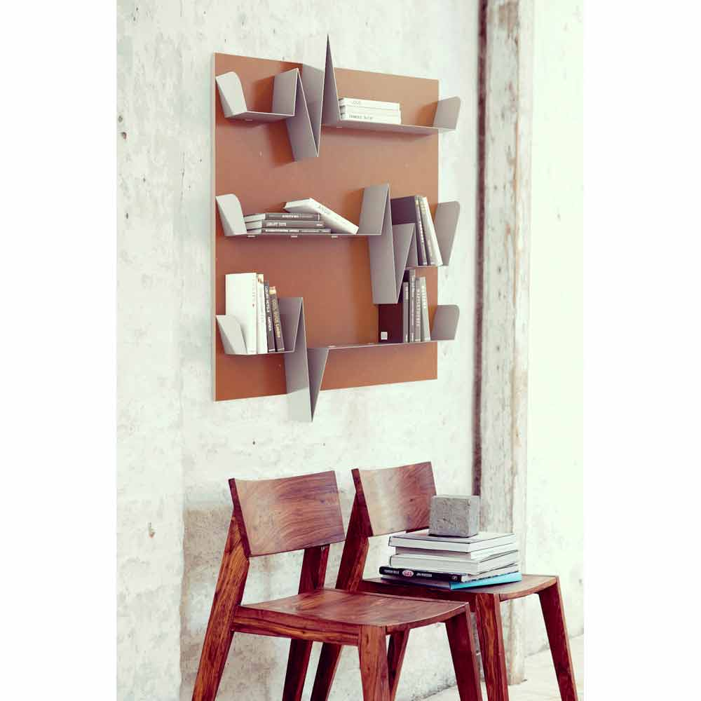 Librerie a muro moderne vendita online di librerie a for Librerie vendita online