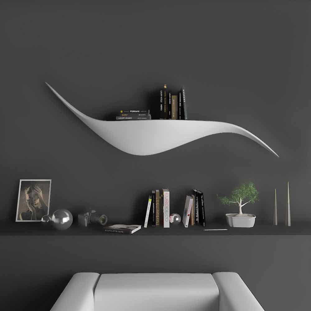 Mensole Da Parete Cucina mensola da parete di design moderno realizzata in italia, tuscania