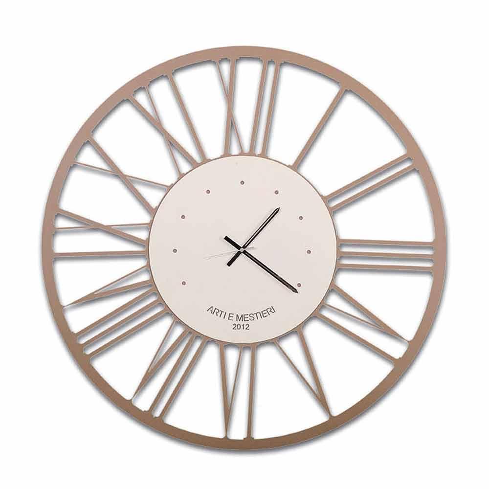 Orologio da Cucina a Muro di Design in Ferro Made in Italy – Gioele