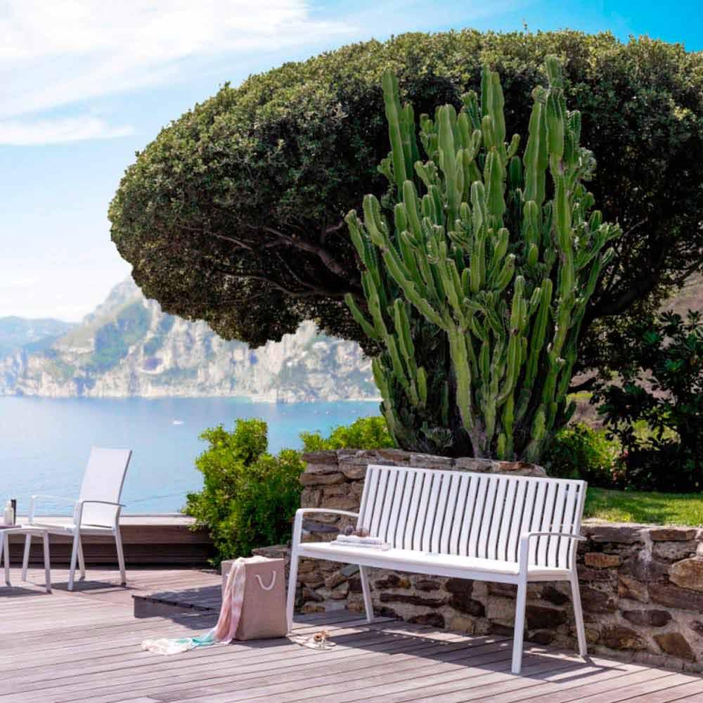 Panchina da giardino design moderno lady by talenti for Giardino design