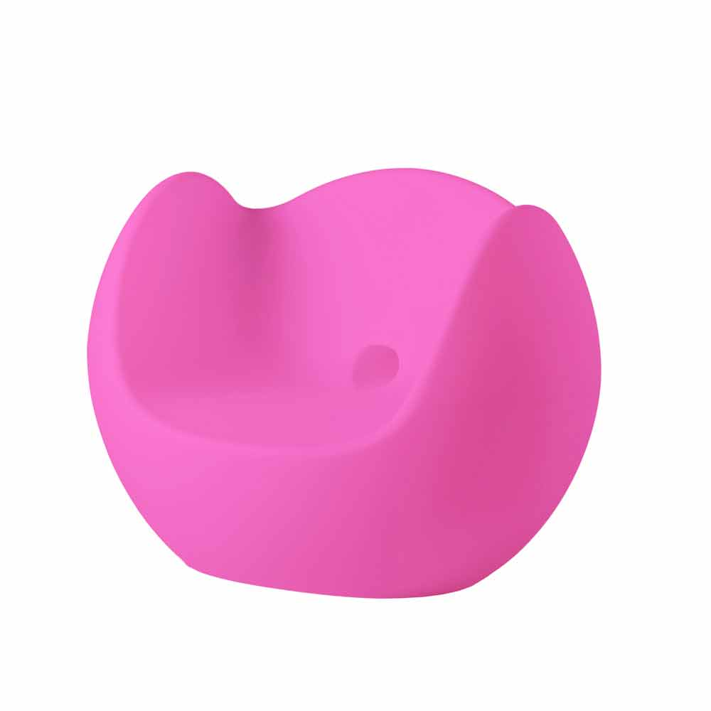 Poltrona a dondolo luminosa moderna colorata di design blos slide - Poltrona a dondolo di design ...