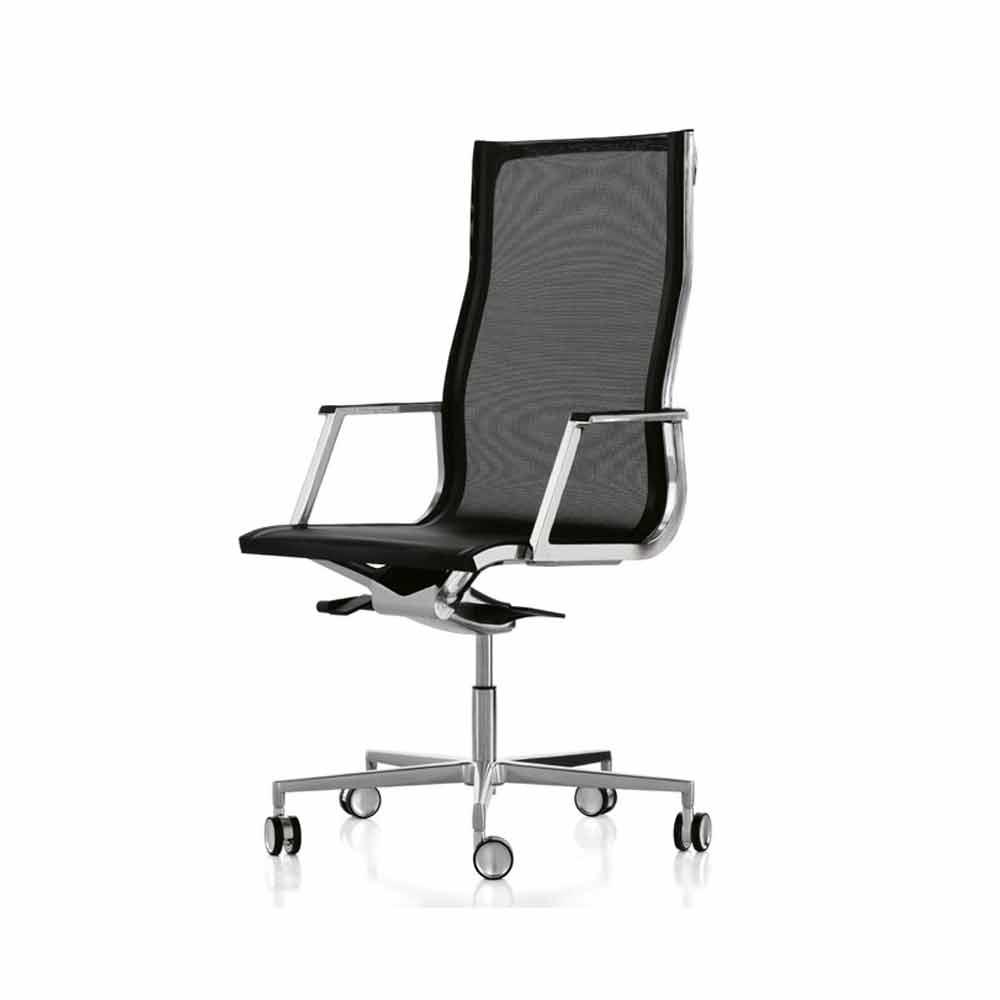 Poltrona da ufficio ergonomica design moderno nulite luxy for Poltrona da terrazzo design