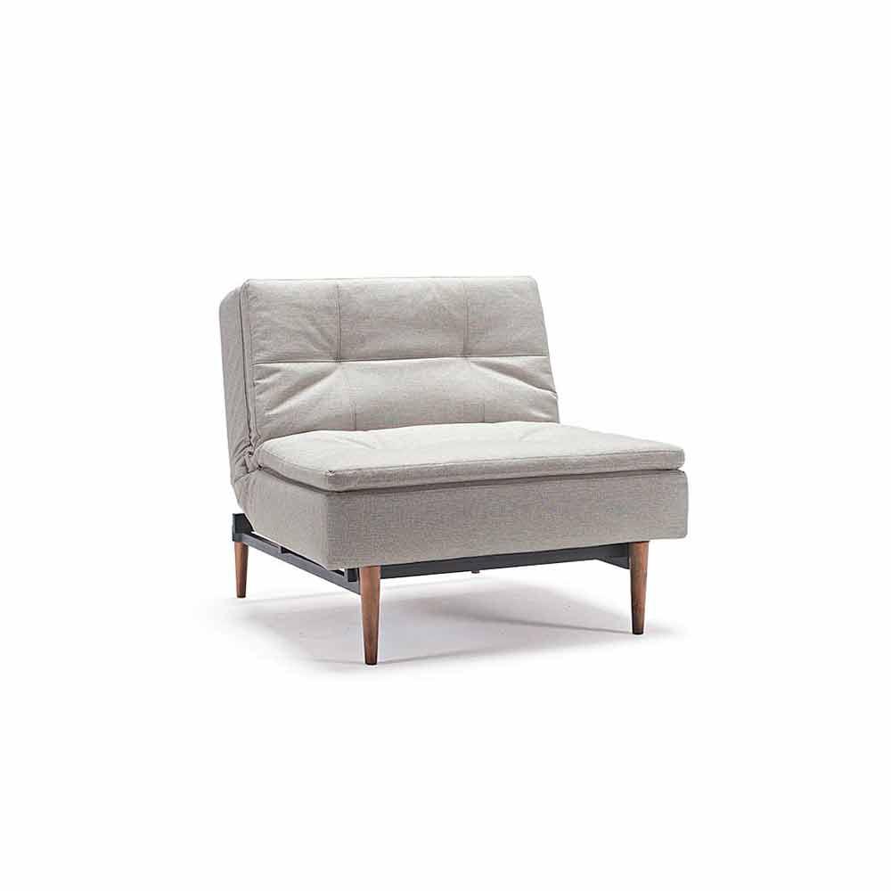 Poltrona letto di design regolabile in 3 posizioni dublexo - Poltrona singola letto ...