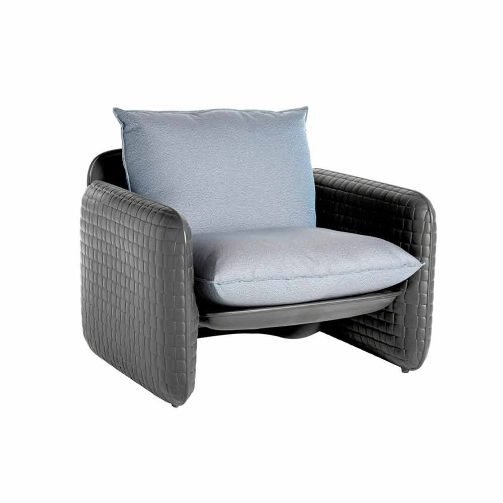 Cuscini Idrorepellenti Per Esterno poltrona lounge con cuscini impermeabili,per esterno - mara slide