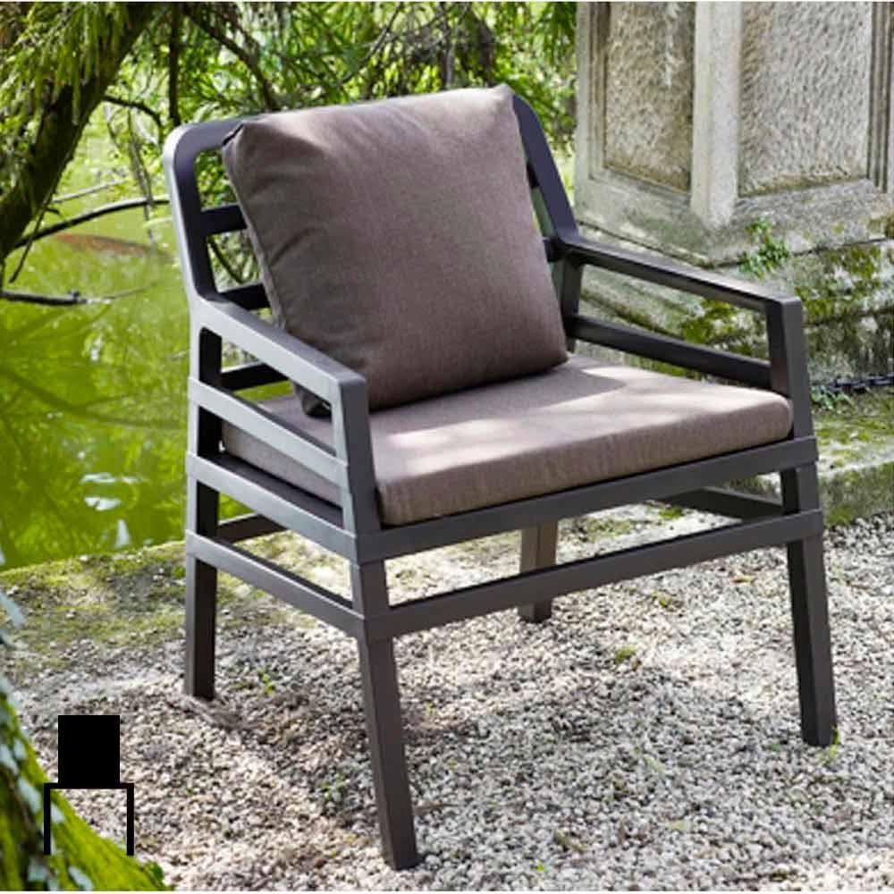 Poltrona moderna da giardino asia for Poltrona giardino