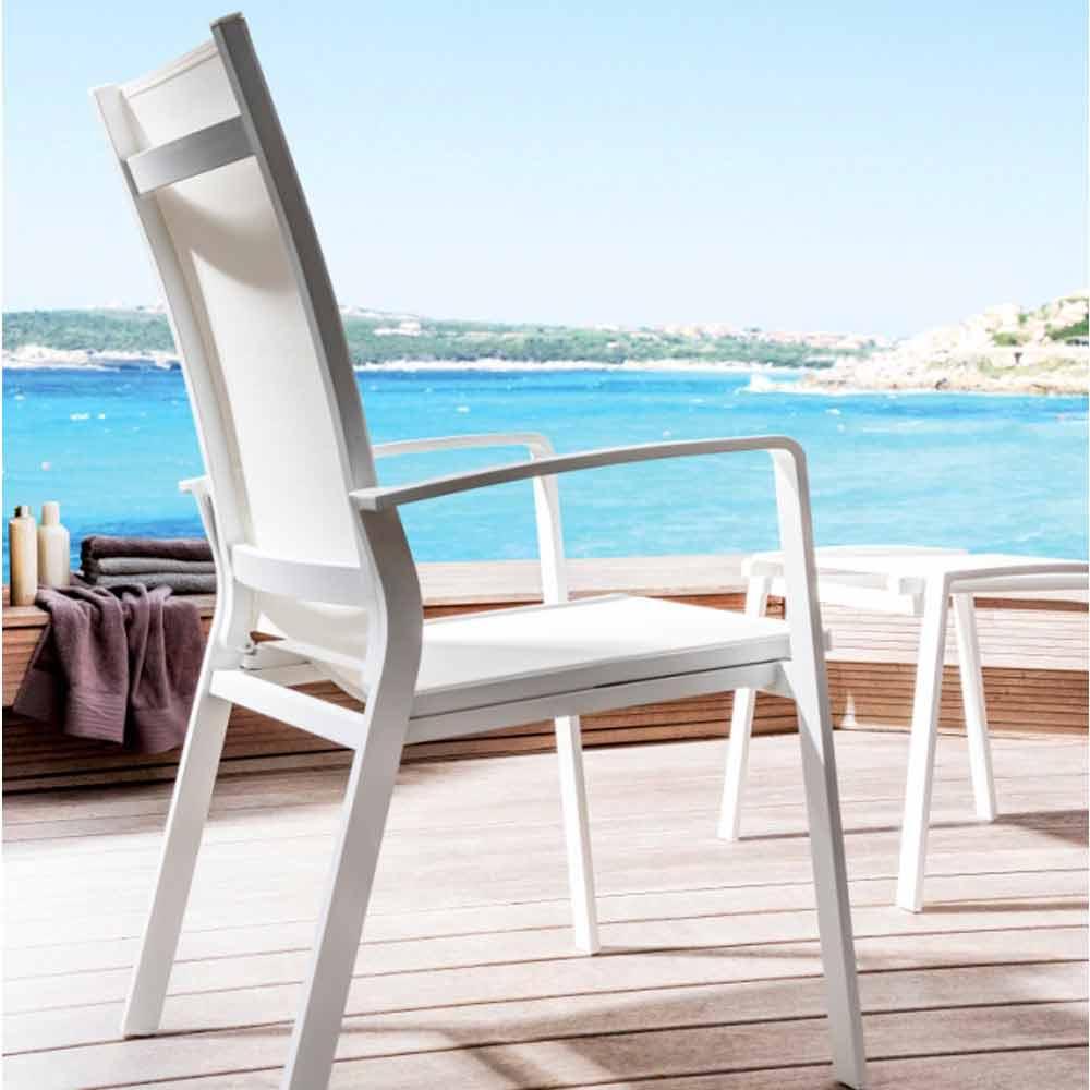 Poltrona reclinabile da giardino modello lady by talenti - Poltrona reclinabile ikea ...