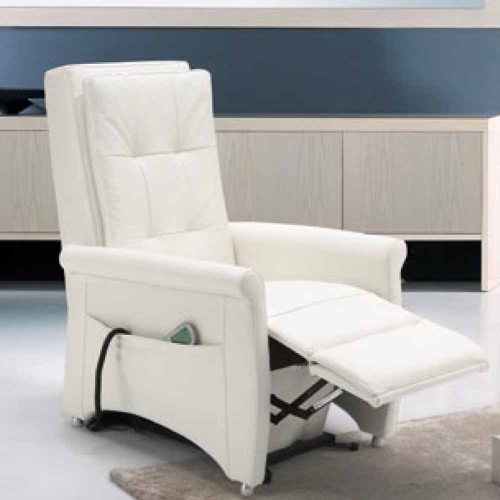 Poltrone Relax.Poltrona Relax Alzapersona Di Design A 2 Motori Via Roma