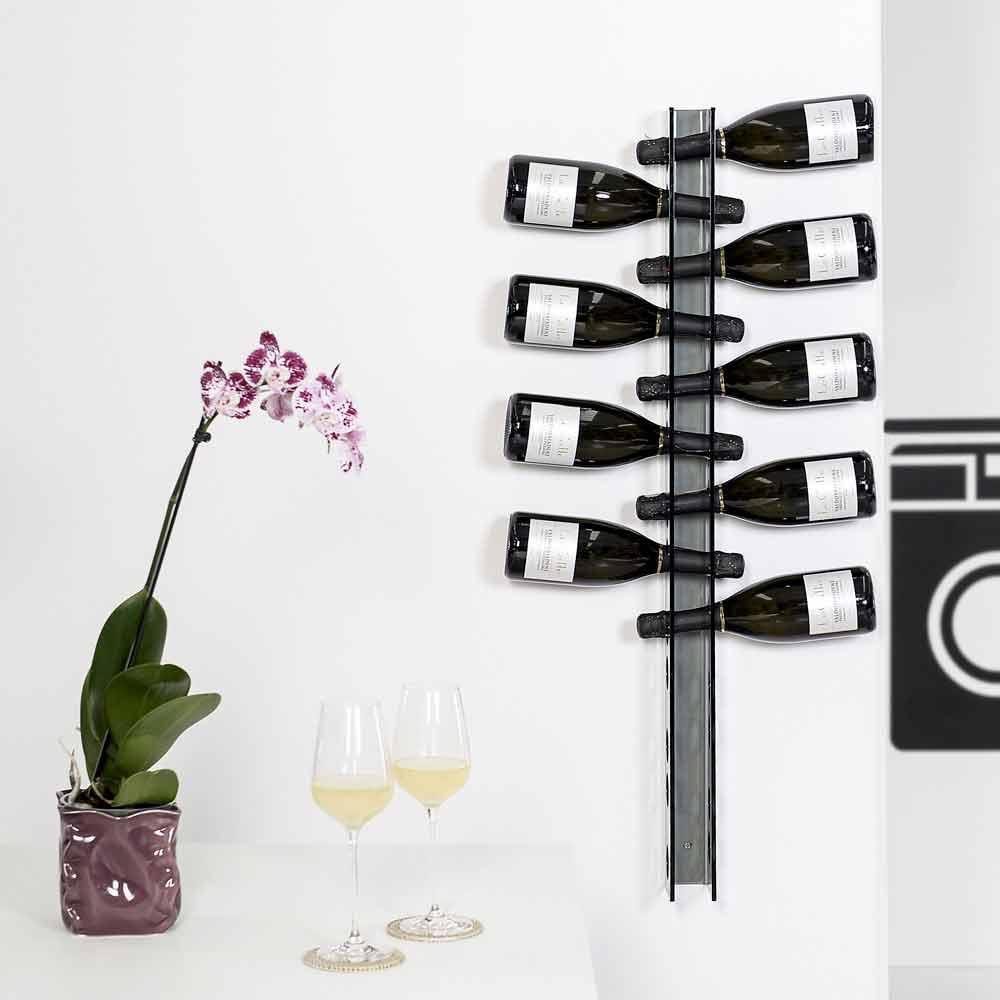 Porta bottiglie da parete fum baby big l6xh100xp11cm - Porta vini da parete ...