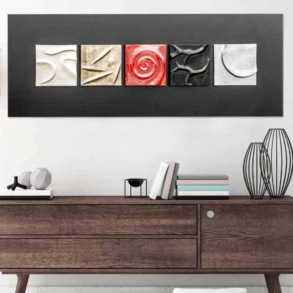 Quadri moderni astratti dipinti a mano o stampati su tela a prezzi ...