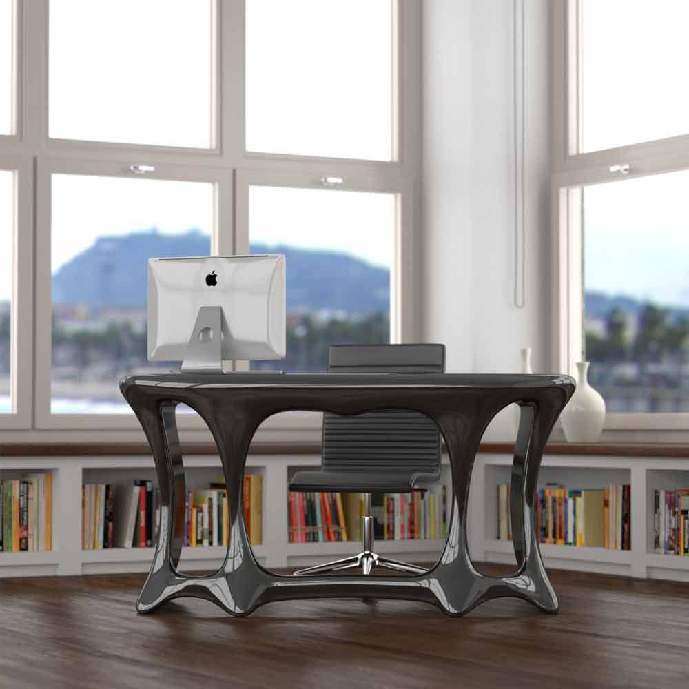 Scrivania da ufficio design moderno batll made in italy for Scrivania design
