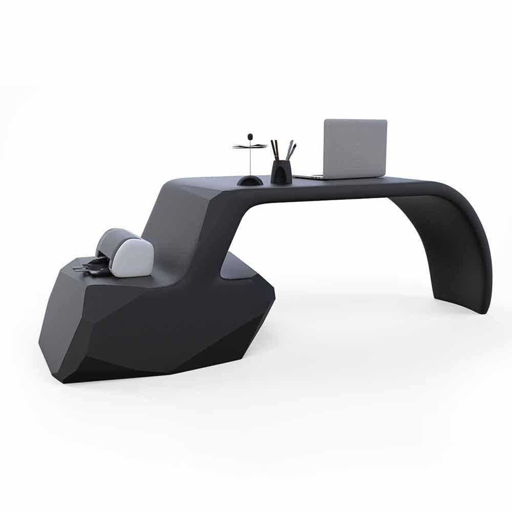 Scrivania da ufficio design moderno gush made in italy for Scrivania design