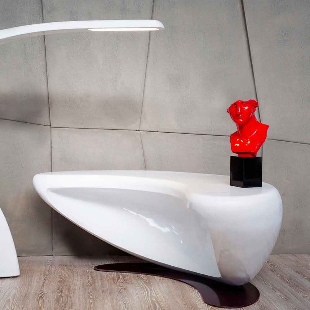 Scrivania design moderno da ufficio boomerang made in italy for Design da ufficio