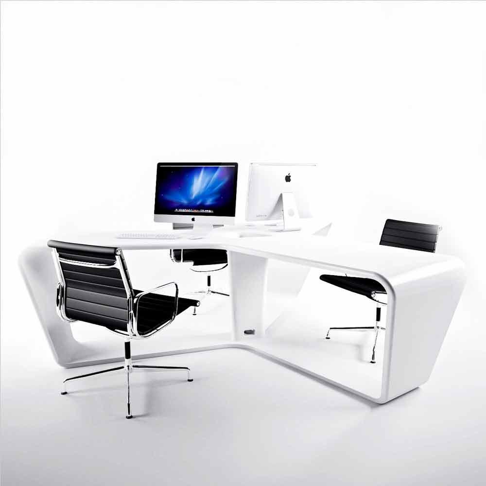 Scrivania multipostazione da ufficio design moderno ta3le for Ufficio scrivania