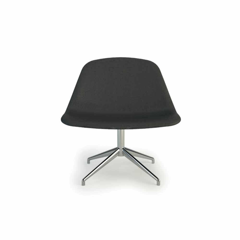 Sedia da ufficio design moderno llounge made in italy by luxy for Sedia design ufficio