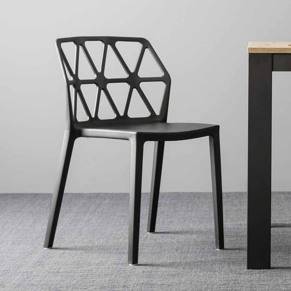 Sedie In Polipropilene Colorate.Sedia Di Design Connubia By Calligaris Alchemia In Polipropilene