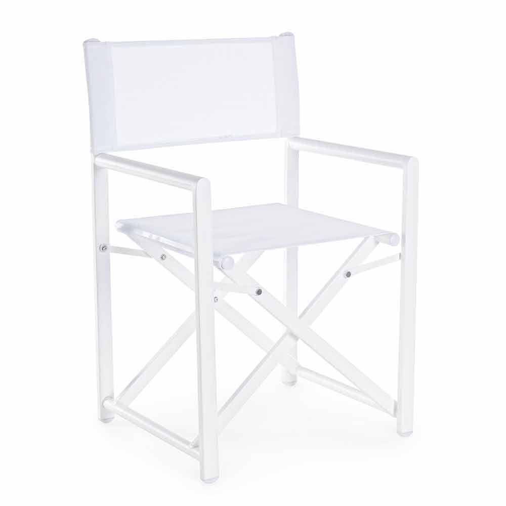 Sedia Regista Per Giardino Design In Alluminio Da Esterno