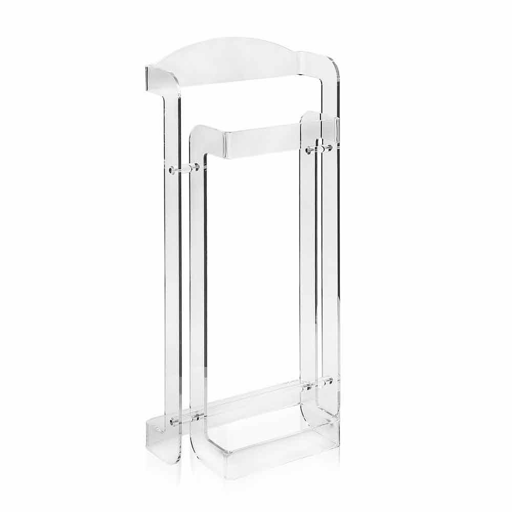 Servomuto design moderno in plexiglass trasparente mose - Servo muto design ...