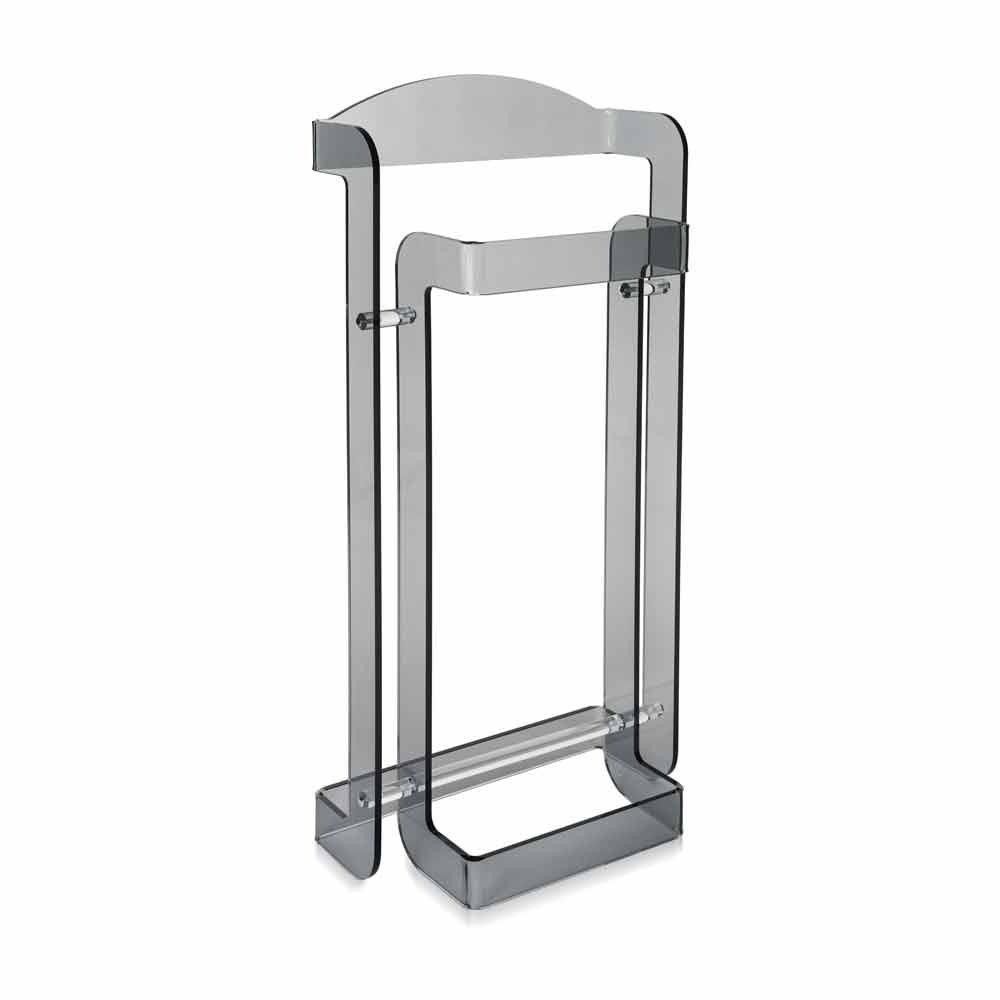 Servomuto moderno di design in plexiglass fum mose made - Servo muto design ...