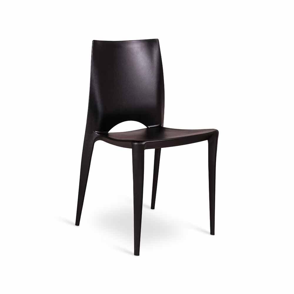 Set 4 sedie moderne da cucina o sala da pranzo felicia for Sedie da pranzo design