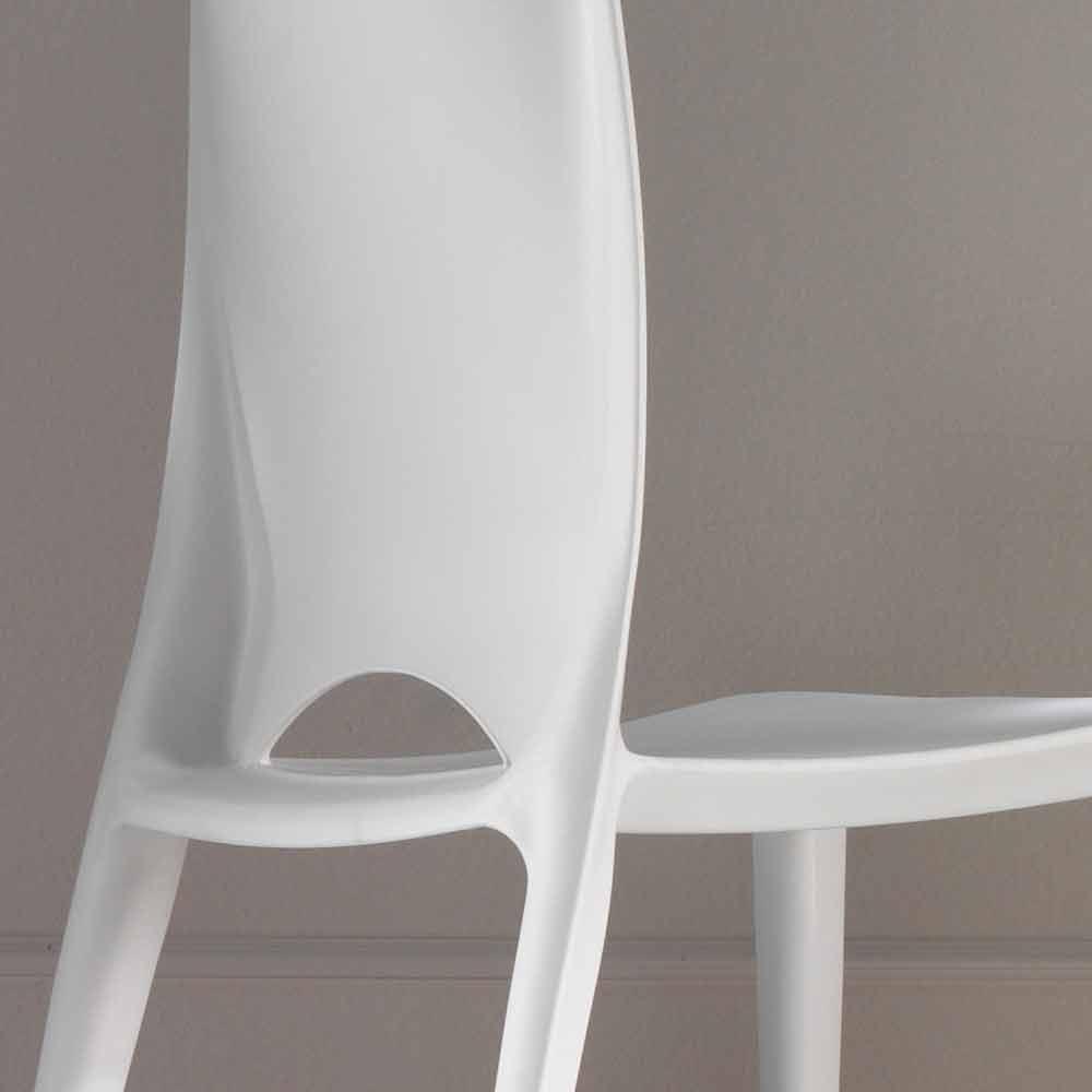 Set 4 sedie moderne da cucina o sala da pranzo felicia - Sedie cucina moderne ...