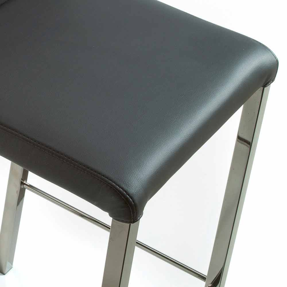 Sgabello Di Design Moderno Per Cucina O Bar Floyd H96 Cm Made Italy
