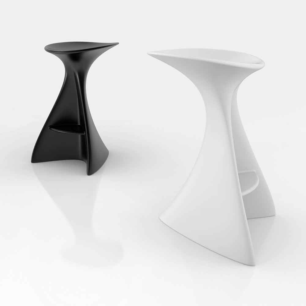 Sgabello design moderno vega made in italy for Sgabelli bar design