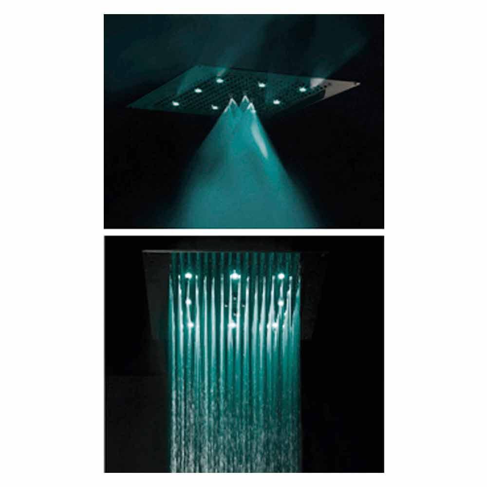 Faretto a parete per doccia - Illuminazione doccia con led ...