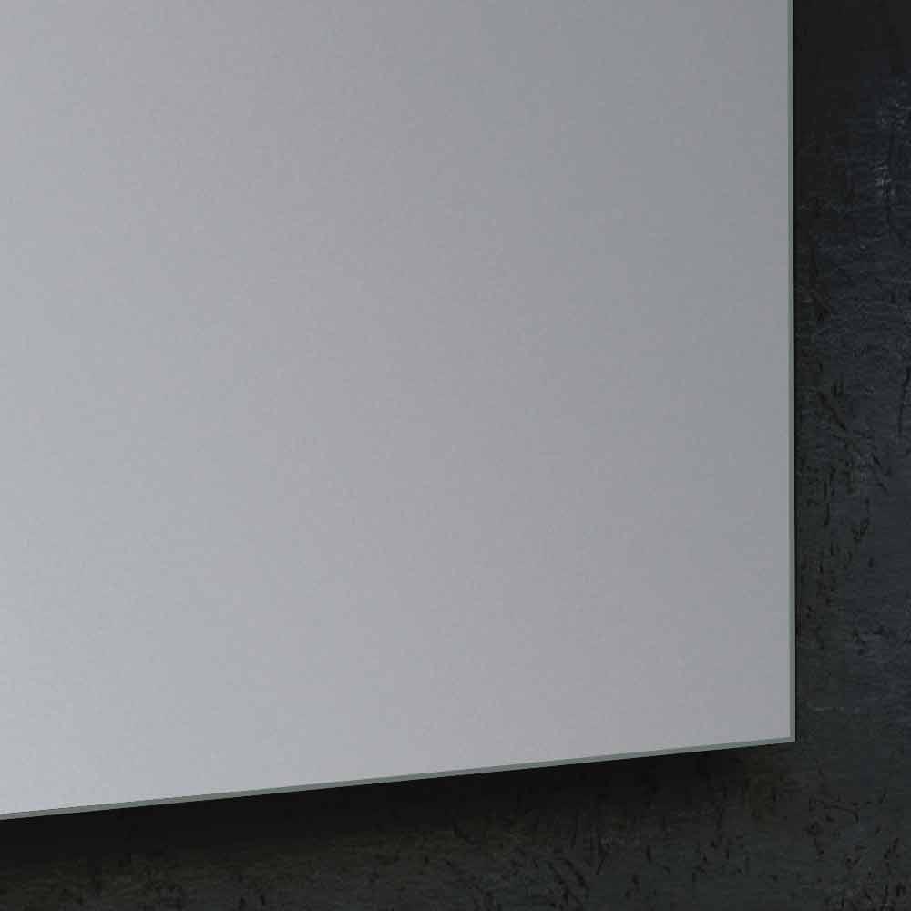 Specchio da bagno con illuminazione led design moderno yvone - Specchio con illuminazione led ...