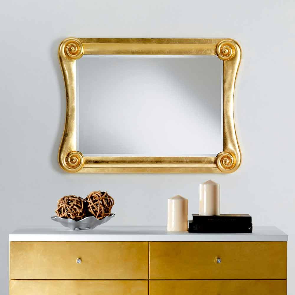 Specchio da parete design moderno bates 123x90 - Specchio design da parete ...