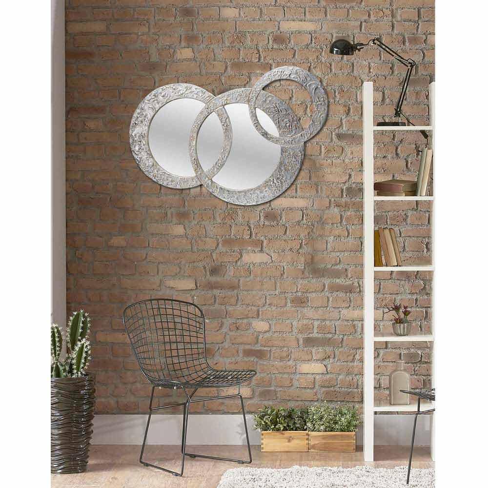 Specchio da parete moderno fatto a mano in Italia Cortina