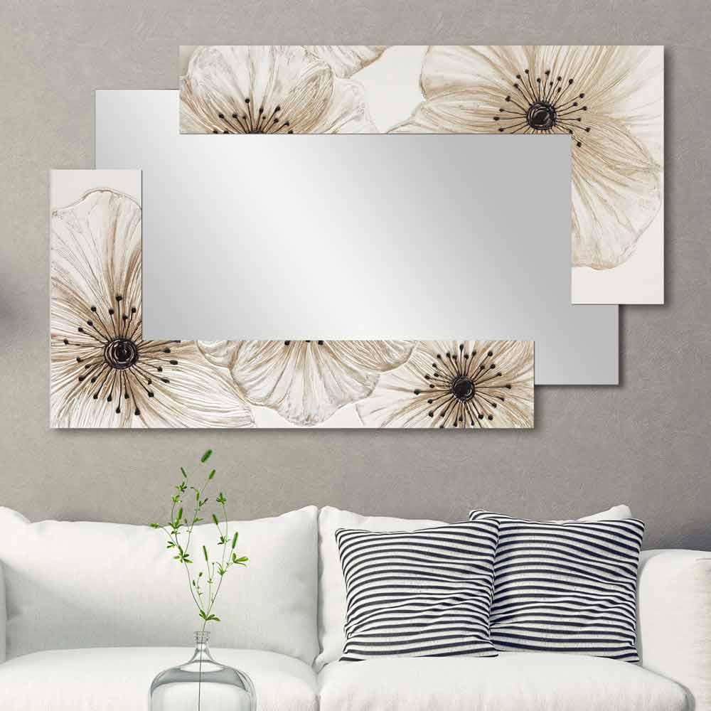 Specchiera da parete moderna in resina fatta a mano in - Specchio di design ...