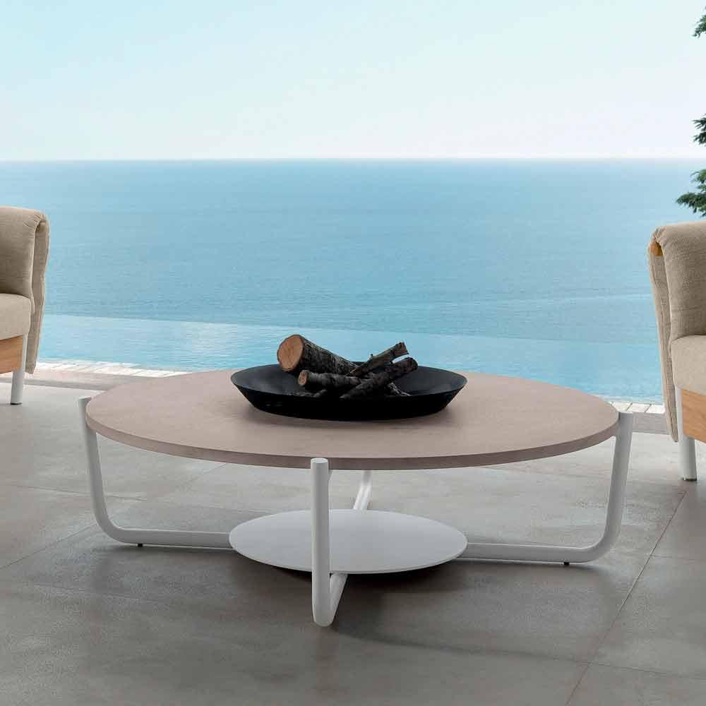 Talenti domino tavolino da caff da giardino di design made in italy - Rubinetti da giardino di design ...