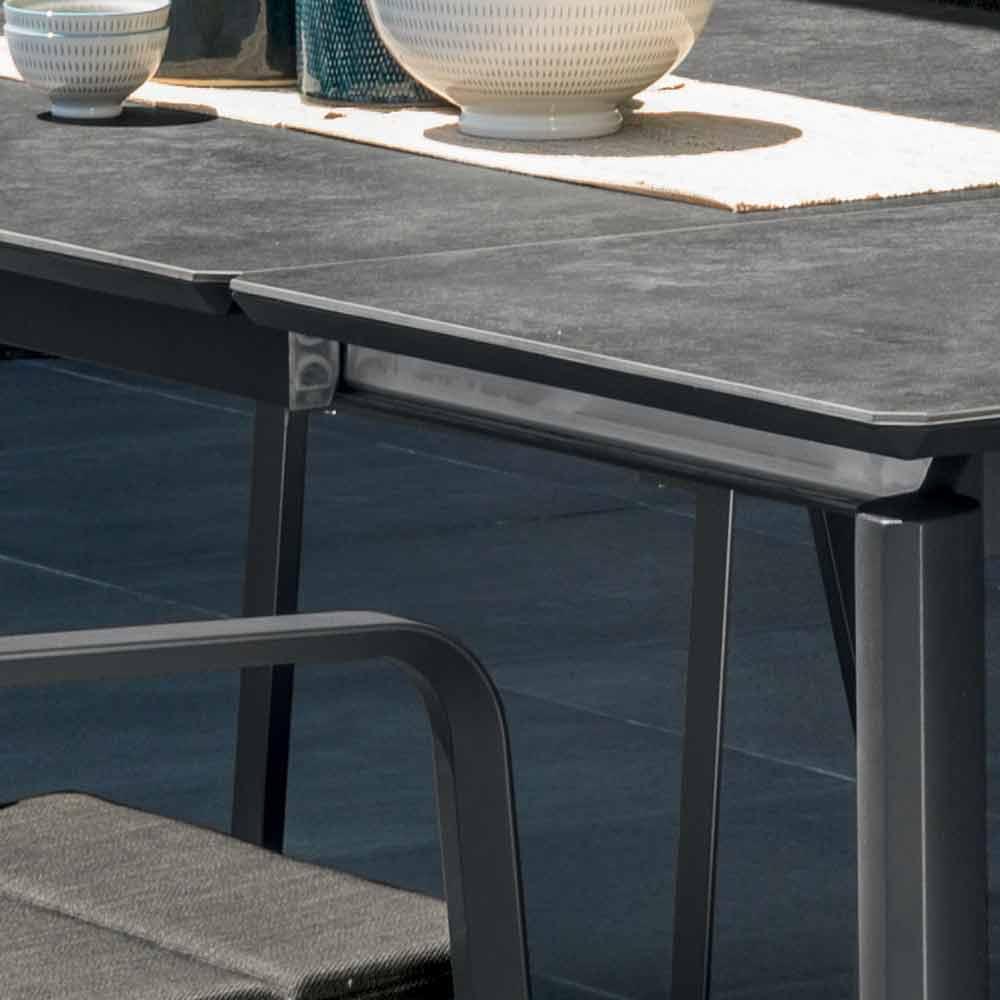 Talenti Milo tavolo allungabile da giardino da esterno made in Italy