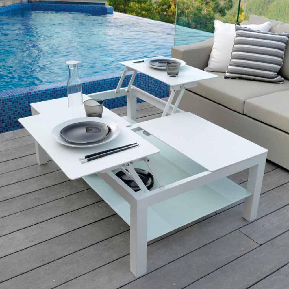 Tavolino caffe moderno gaudo miniforms: tavolino moderno in legno ...