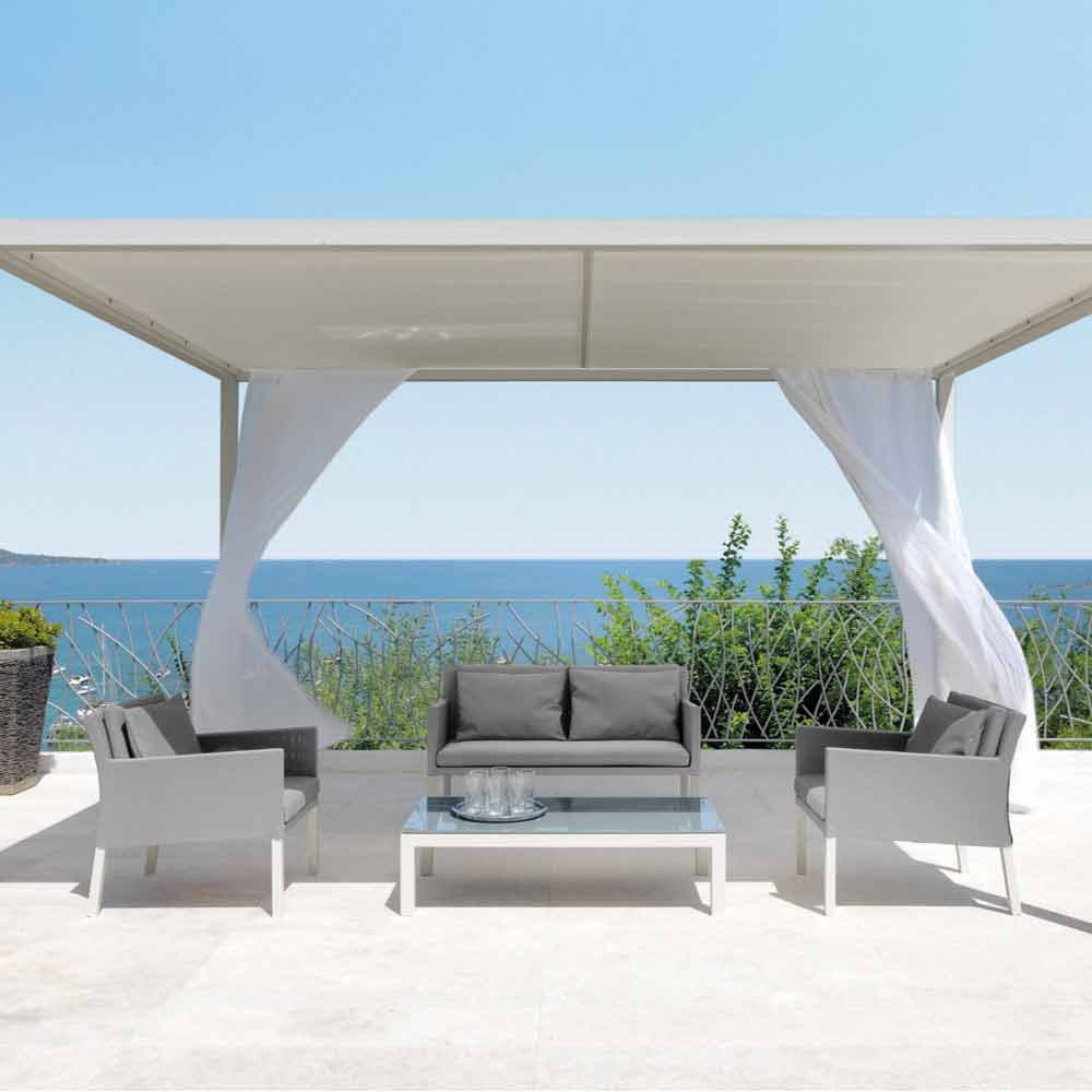 Tavolino da giardino design moderno step by talenti - Giardino moderno design ...