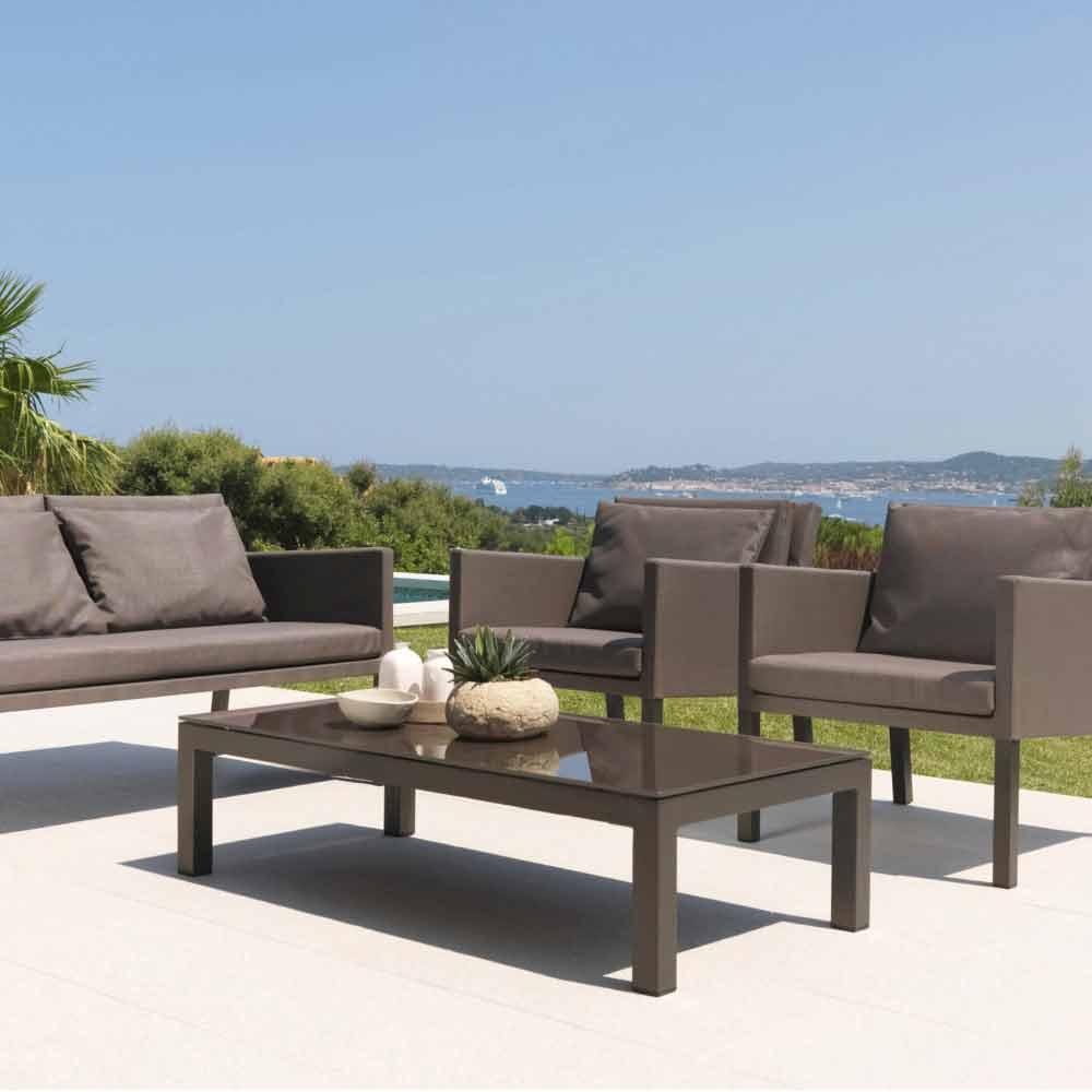 Tavolino da giardino design moderno Step by Talenti