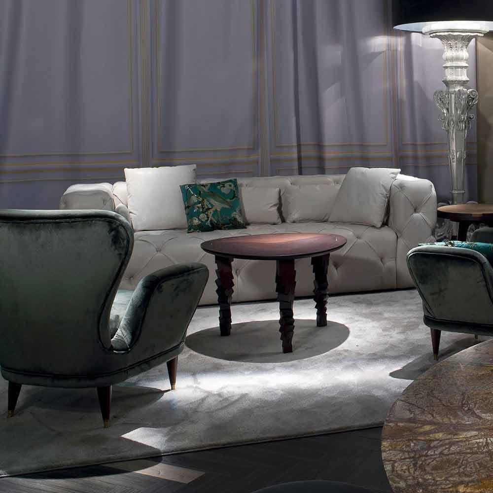 Tavolino da salotto design moderno in legno made in italy for Salotto design moderno