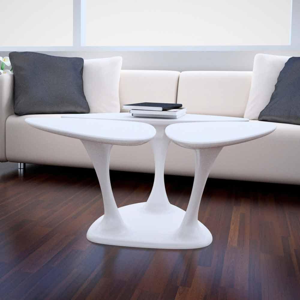 Tavolino Design Moderno Amanita Made in Italy by Zad Italy, online su ...