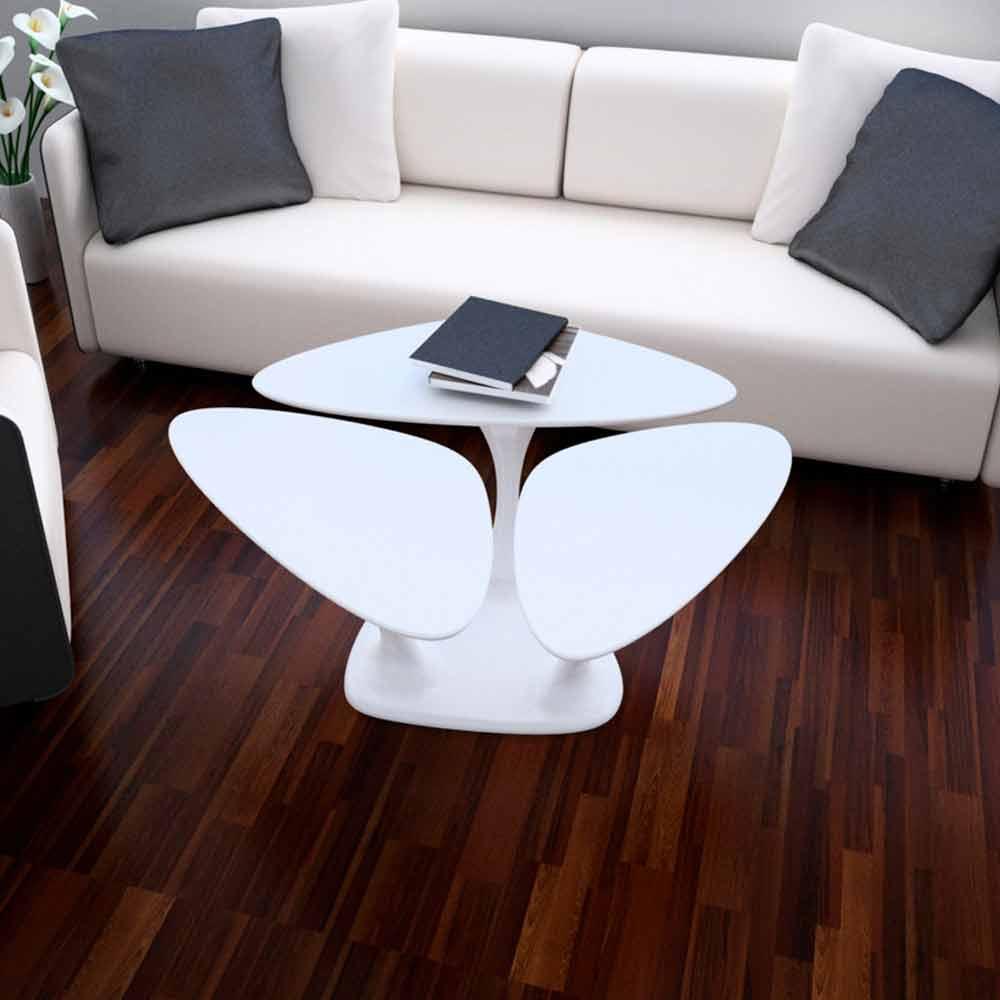 Tavolino design moderno amanita made in italy for Oggettistica design moderno