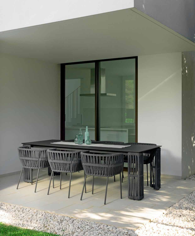 Tavolo da esterno allungabile fino a 3 mt in alluminio ...