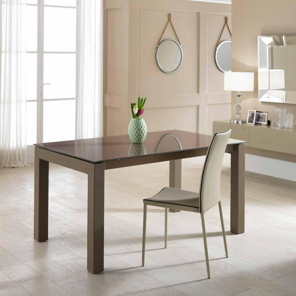 Tavolo da pranzo allungabile design moderno Sisto
