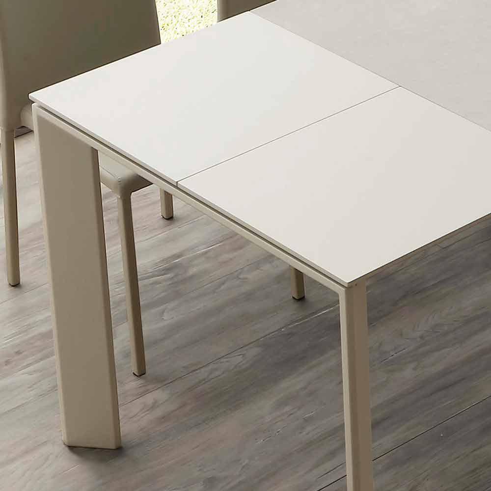 Tavolo in vetroceramica allungabile a libro fino a 240 cm Terni