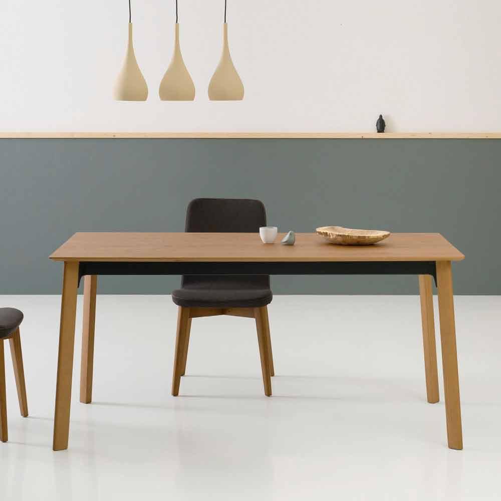 Tavolo Moderno Allungabile, per Sala da Pranzo Made in Italy - Sellia