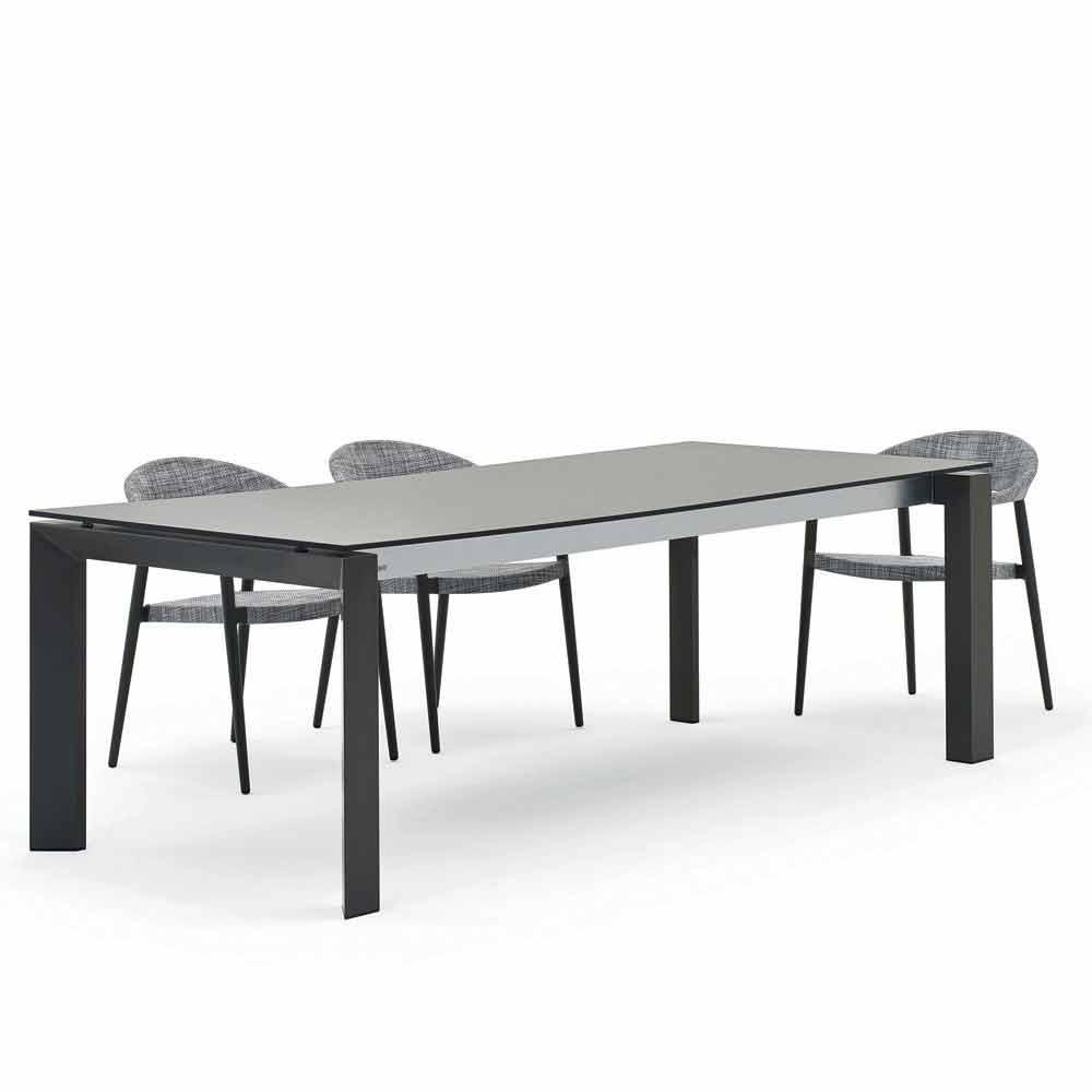 Tavoli Da Esterno Design.Varaschin Dolmen Tavolo Da Esterno Design Moderno 240x100 Cm