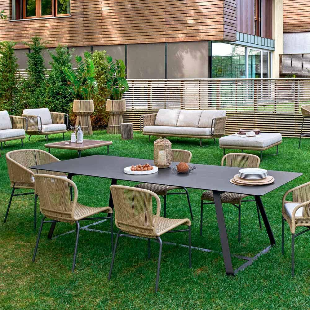 Portalegna da esterno brico barbecue brico with - Brico tavoli da giardino ...
