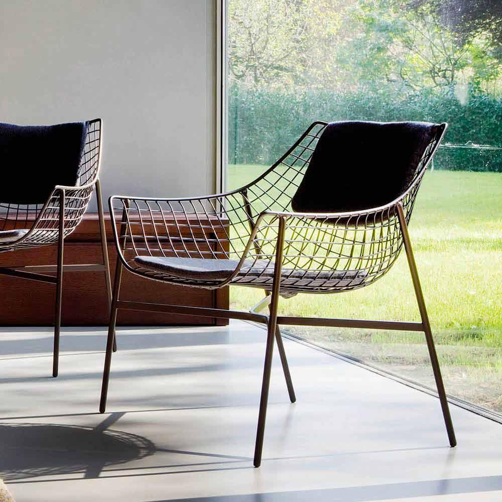 Varaschin summer set poltrona lounge da giardino design for Poltrone da giardino