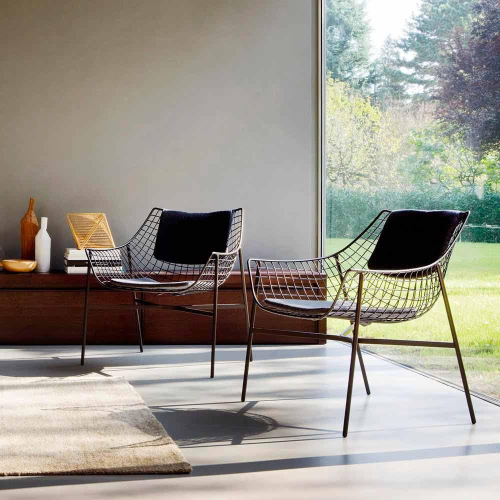 Varaschin summer set poltrona lounge da giardino design for Korbsessel modern