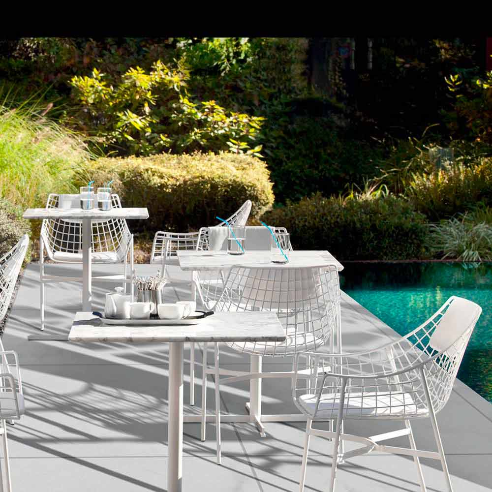 Varaschin summer set poltrona lounge da giardino design for Giardino design