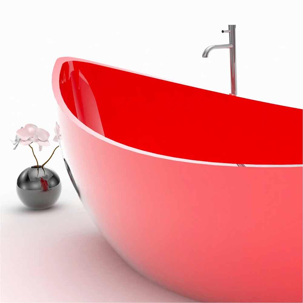 Vasca arredo bagno in adamantx funamori made in italy for Arredo bagno vasca